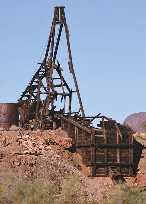 Wickenburg Mine True West