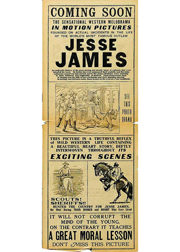 1921 Jesse James True West