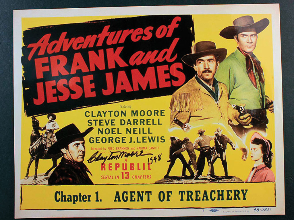 Adventures of Jesse James True West