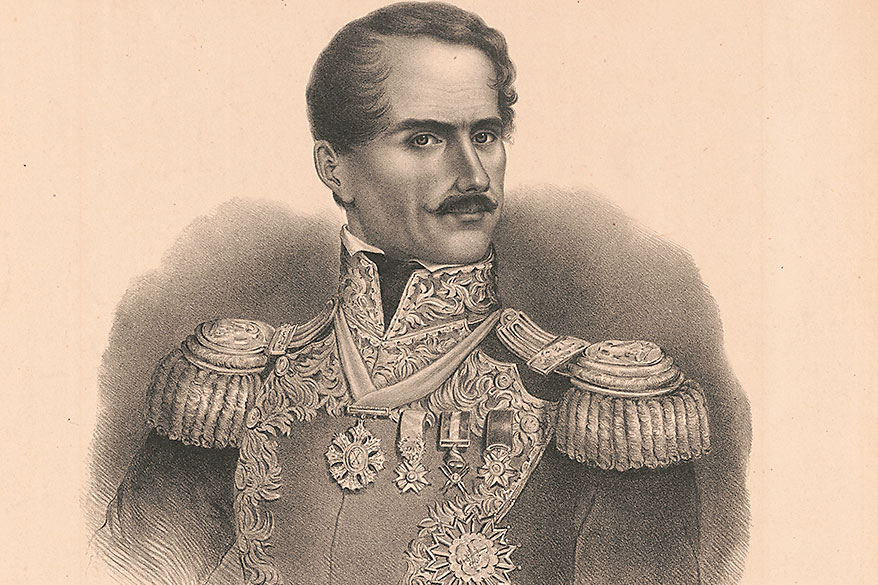 General Santa Anna True West