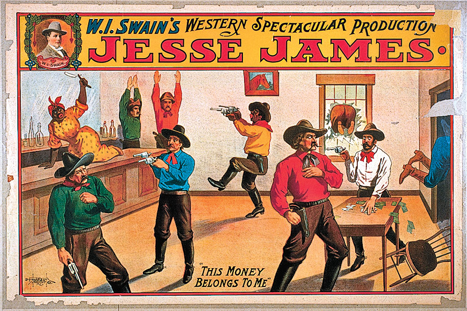 Jesse James True West