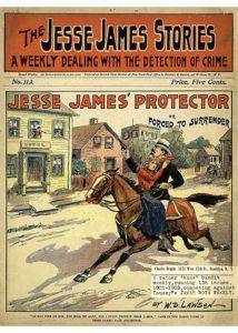 Jesse James Novel True West