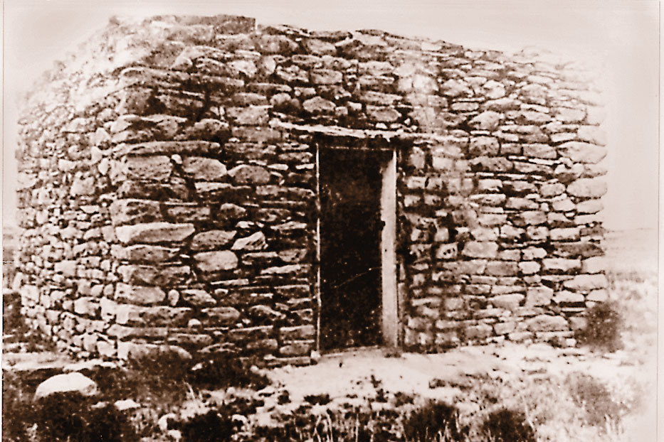 Stinking Springs Rock House True West