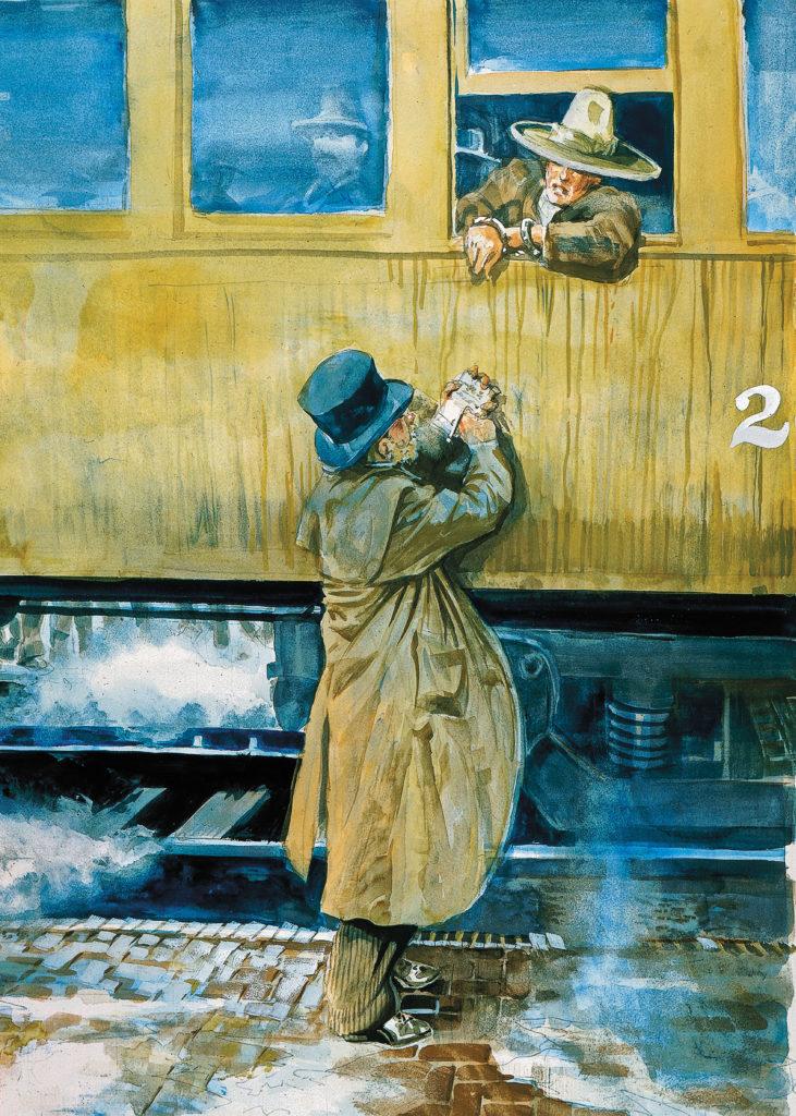 Train Interview True West