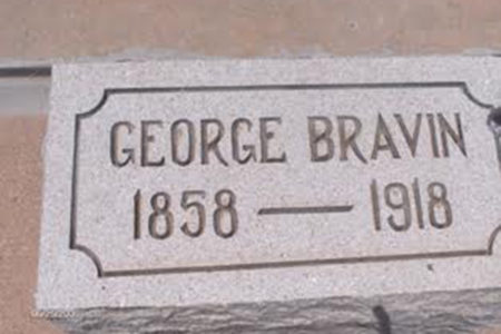 George Bravin grave