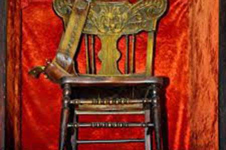 Wild Bill Hickok's death chair