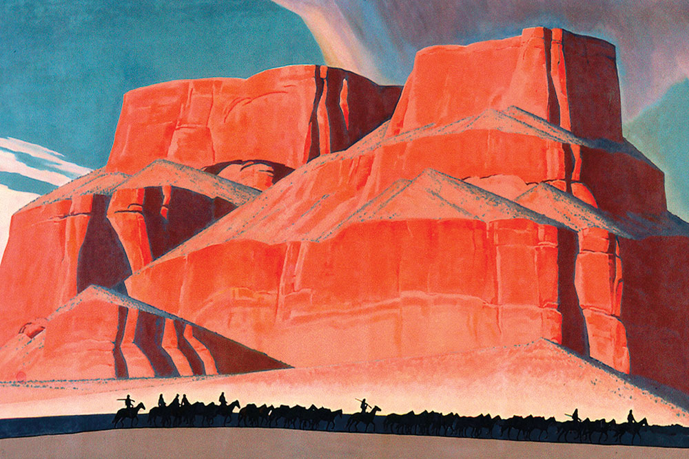 maynard dixon art true west magazine