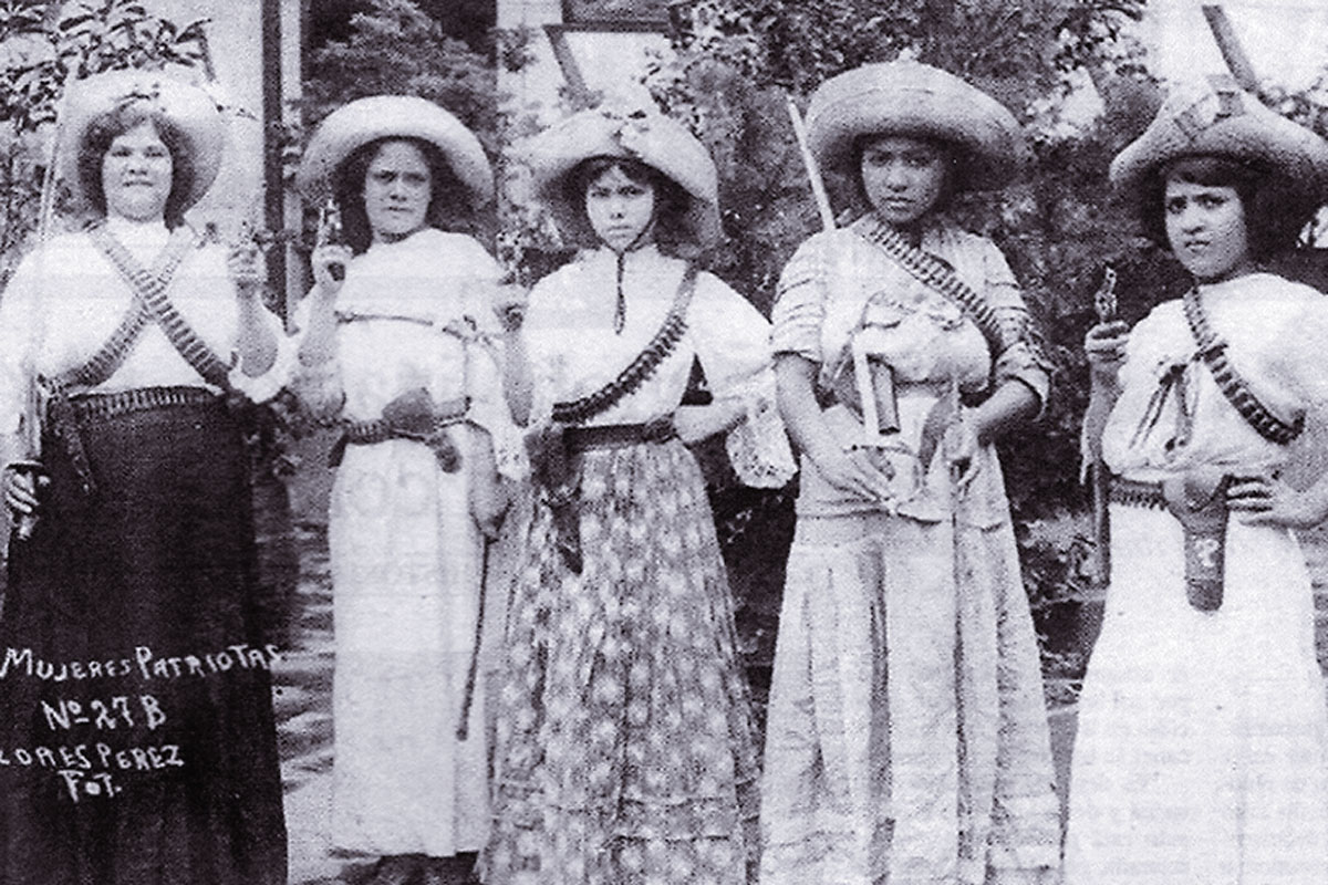 mexican women freedom fighters true west magazine