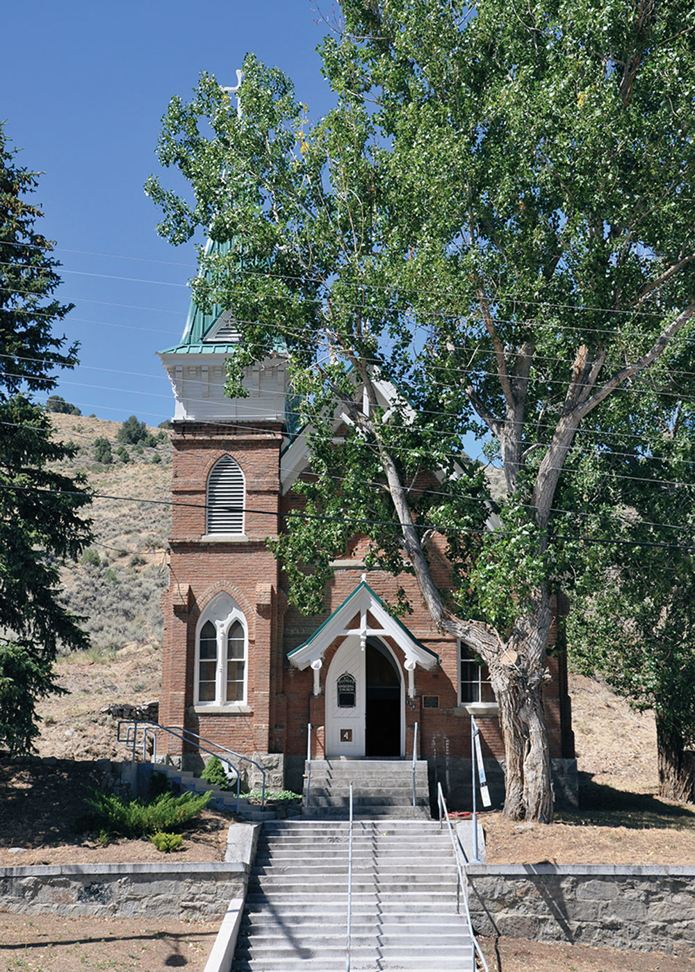 austin nevada church true west magazine