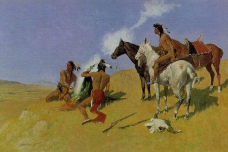 native american smoke signals true west magazine