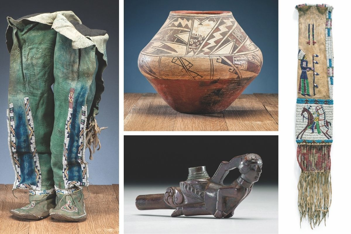 american indian cowan's art auction true west magazine