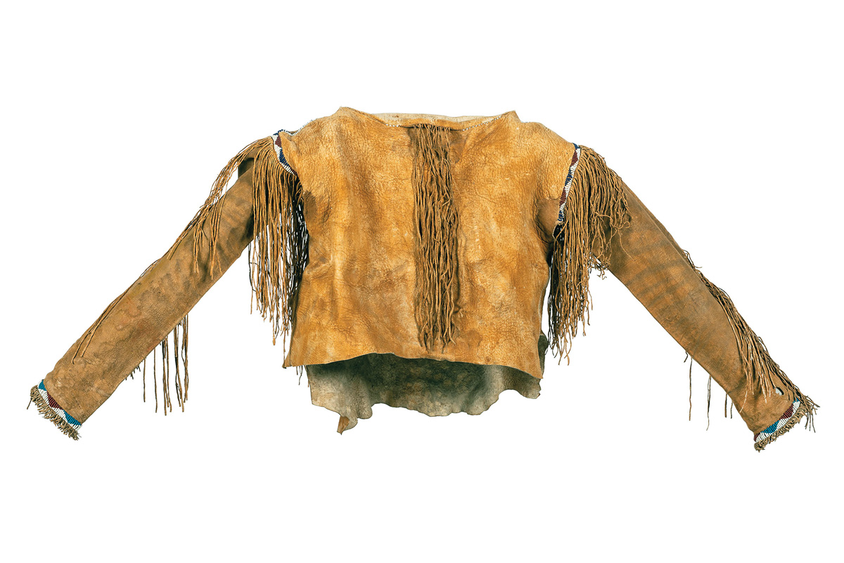apache buffalo hide coat clothing true west magazine