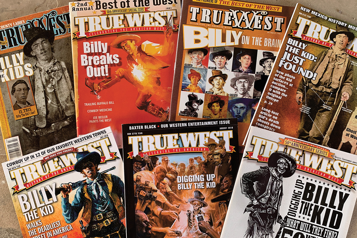 billy the kid book true west magazine