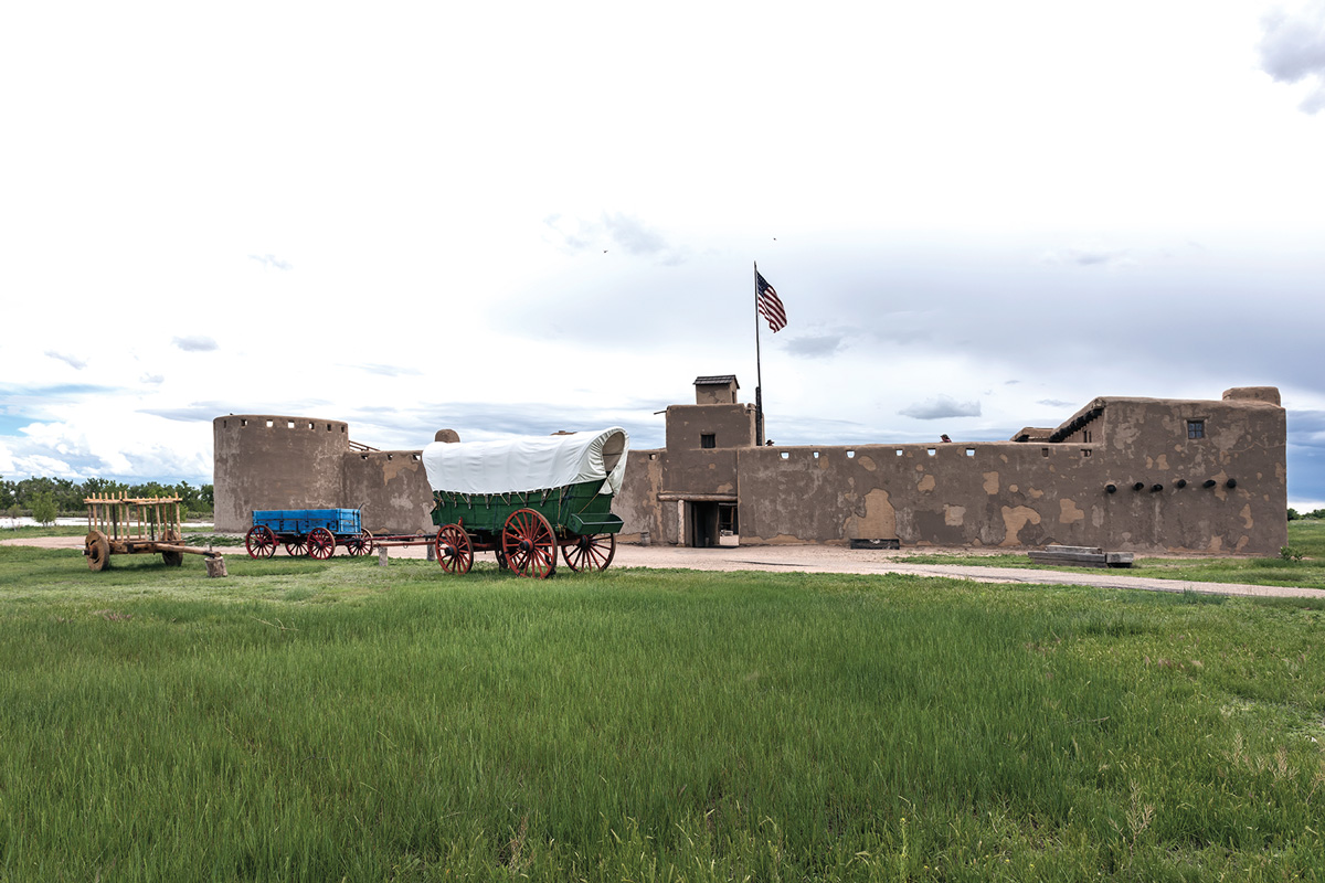 santa fe trail fort true west magazine
