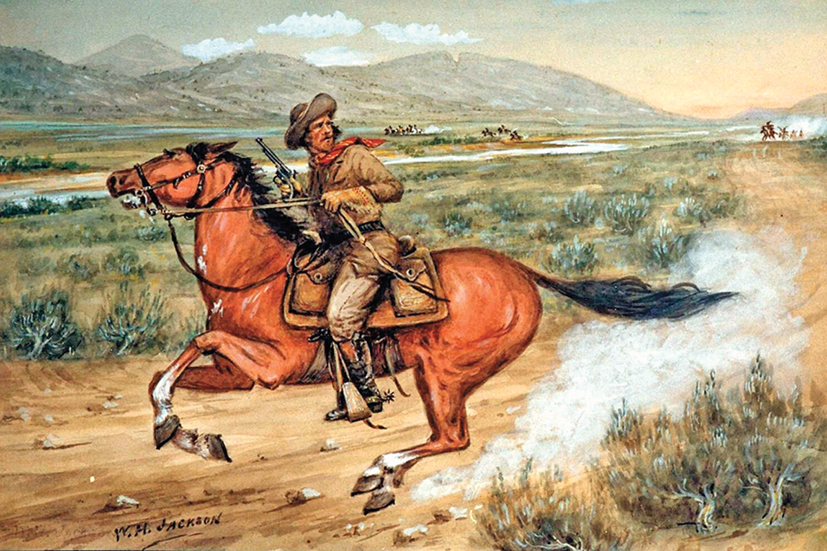 pony express rider true west magazine