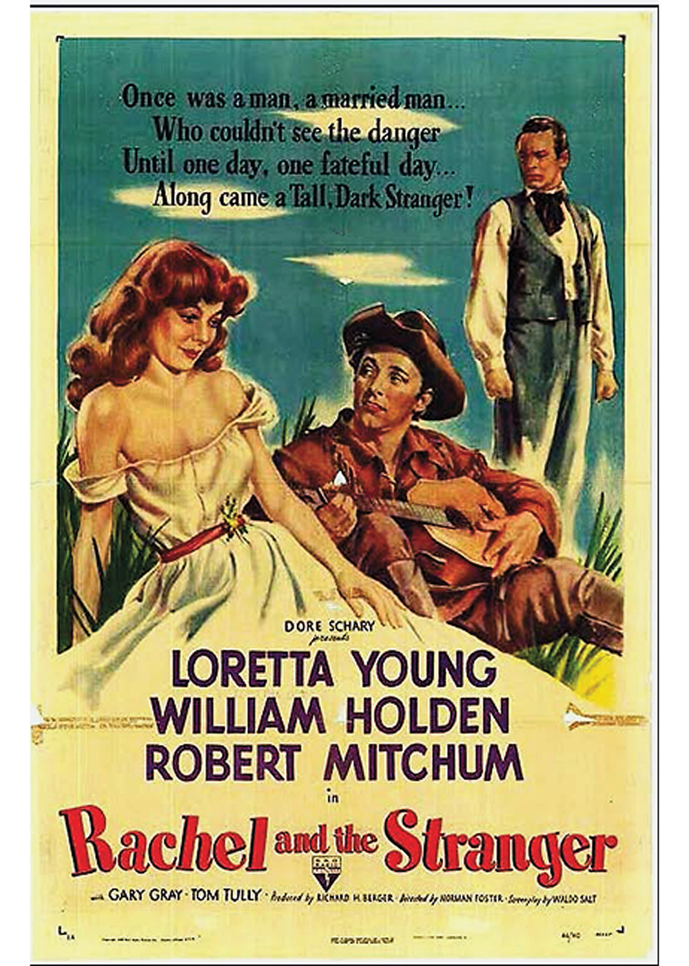rachel and the stranger western film true west magazine