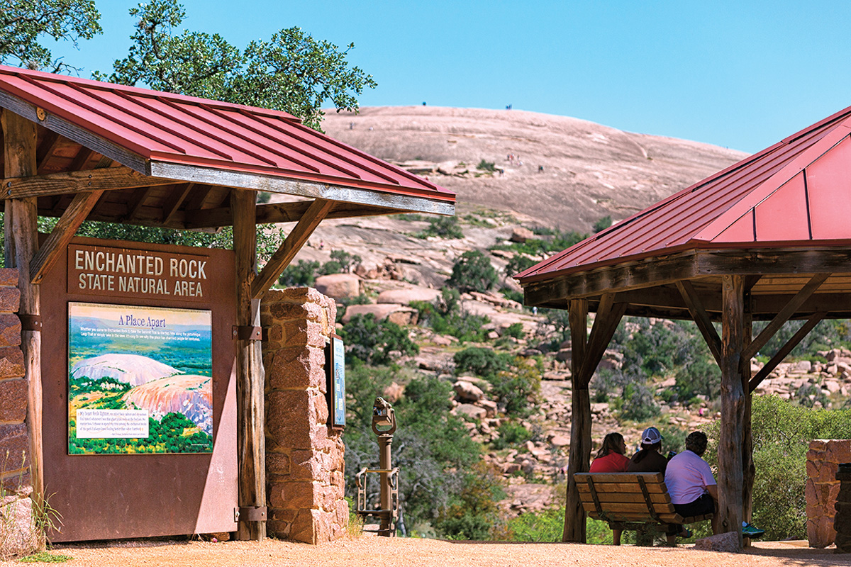enchanted rock state natural area texas true west magazine