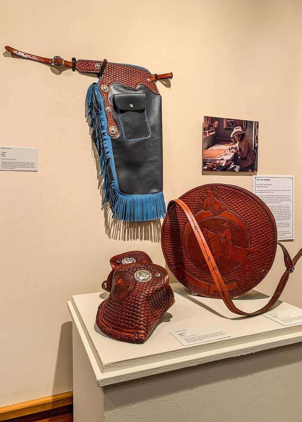 leatherwork true texas exhibit true west magazine